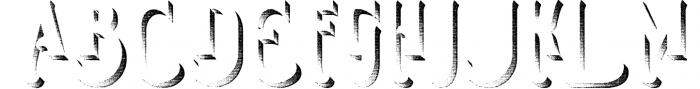 Smoking typeface + Illustration 1 Font UPPERCASE