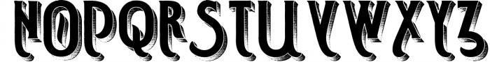 Smoking typeface + Illustration 2 Font UPPERCASE