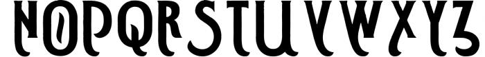 Smoking typeface + Illustration Font UPPERCASE