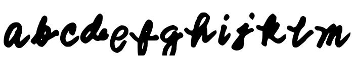 SMITHCHERRYOPEDA Font LOWERCASE