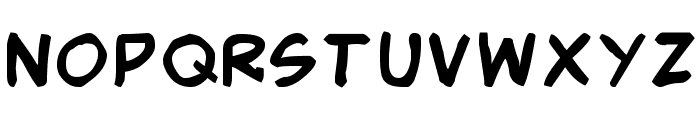 Smack Typographik Font UPPERCASE