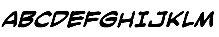 SmackAttack BB Bold Font UPPERCASE