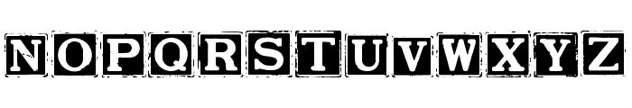Smargana Dealing Font UPPERCASE