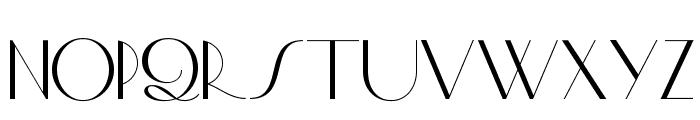 Smart Frocks NF Font UPPERCASE