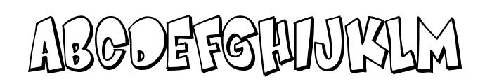 Smartie CAPS Font UPPERCASE