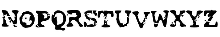 Smash Font UPPERCASE