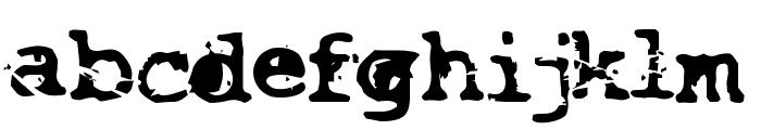 Smash Font LOWERCASE