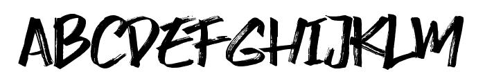 Smasher Font LOWERCASE