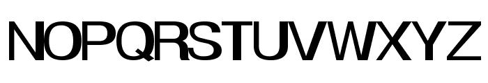 Smear Font UPPERCASE