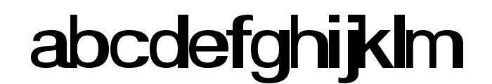 Smear Font LOWERCASE