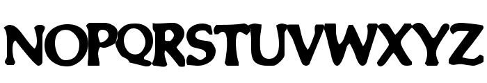 Smeared Font UPPERCASE