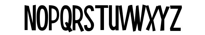 Smilage Font UPPERCASE