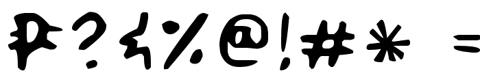 Smilecomix Font OTHER CHARS