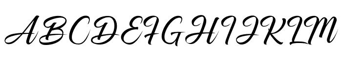 Smileof the Ocean Font UPPERCASE