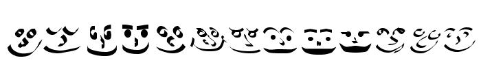Smiles Font UPPERCASE