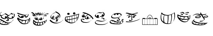 Smiles Font LOWERCASE