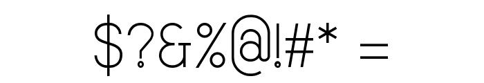 Smiley Regular Font OTHER CHARS