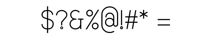 Smiley Sans Regular Font OTHER CHARS