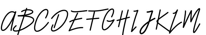 Smiley Font UPPERCASE