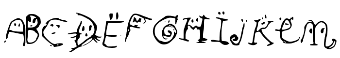 Smiley_Font Font UPPERCASE
