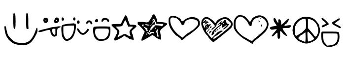 Smileysetc Font UPPERCASE