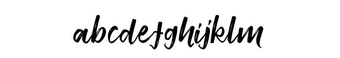 Smithen Font LOWERCASE