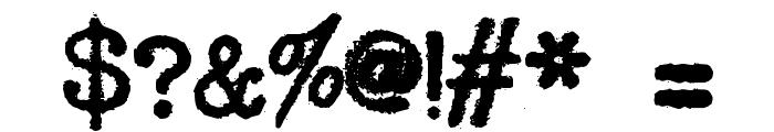 SmithyXY-VeryHeavy Font OTHER CHARS