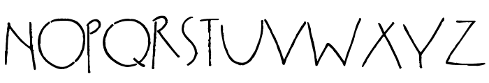 Smitten Kitten Font UPPERCASE