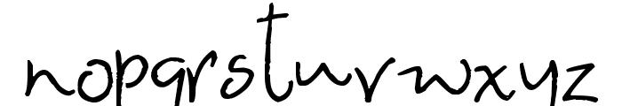 Smitten Kitten Font LOWERCASE