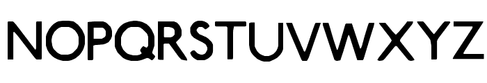 Smog Font UPPERCASE