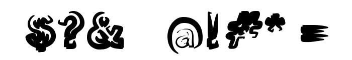 Smoke-Black-Black Font OTHER CHARS
