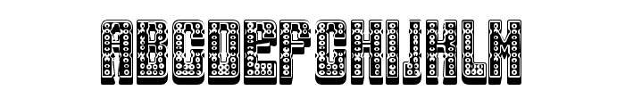 Smoke Chamber Regular Font UPPERCASE