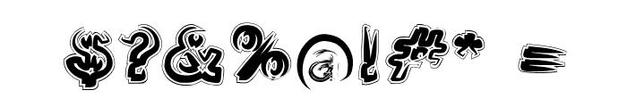 Smoke-Contour-Italic Font OTHER CHARS
