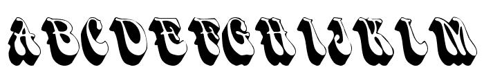 Smoke Font UPPERCASE