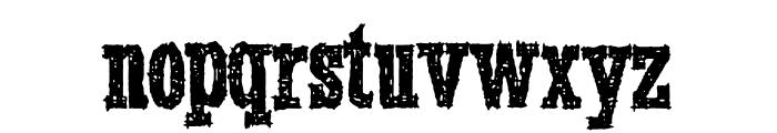 SmokeInTheWoods Font LOWERCASE