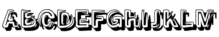 SmokeShadow-Medium Font UPPERCASE