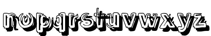 SmokeShadow-Medium Font LOWERCASE