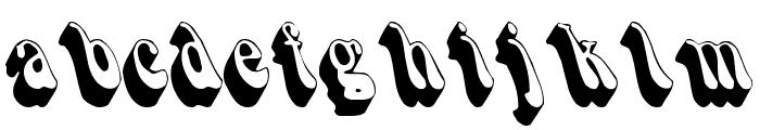 Smoke Font LOWERCASE