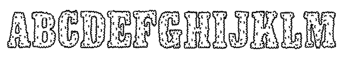 Smokeland Font UPPERCASE