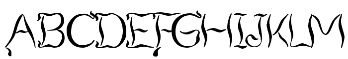 Smoking Tequila Font UPPERCASE