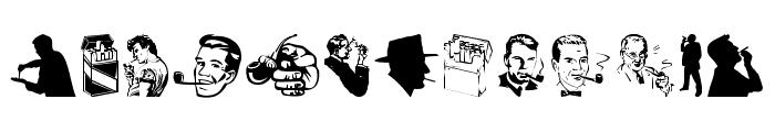 Smoking Font LOWERCASE
