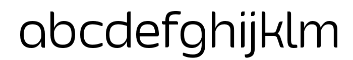 Smoolthan Thin Font LOWERCASE