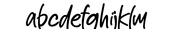 Smooth Bellena Font LOWERCASE