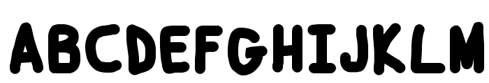 Smoothie Black Font UPPERCASE