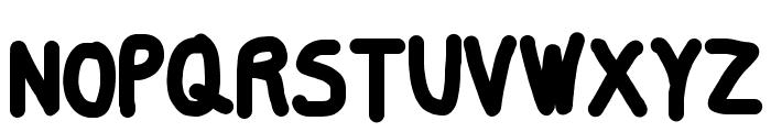 Smoothie ExtraBold Font UPPERCASE