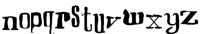 Smoothie Francisco Regular Font LOWERCASE