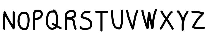 Smoothie Light Font UPPERCASE
