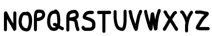 Smoothie SemiBold Font UPPERCASE