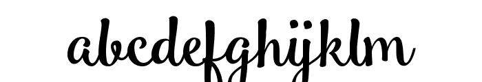 Smoothie Shoppe Font LOWERCASE