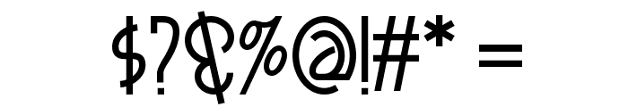 Smorgasbord NF Font OTHER CHARS